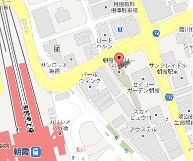 朝霞Daily地図