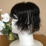 40代女性のお客様ご試着☆くせ毛でも自然なウィッグが作れます!