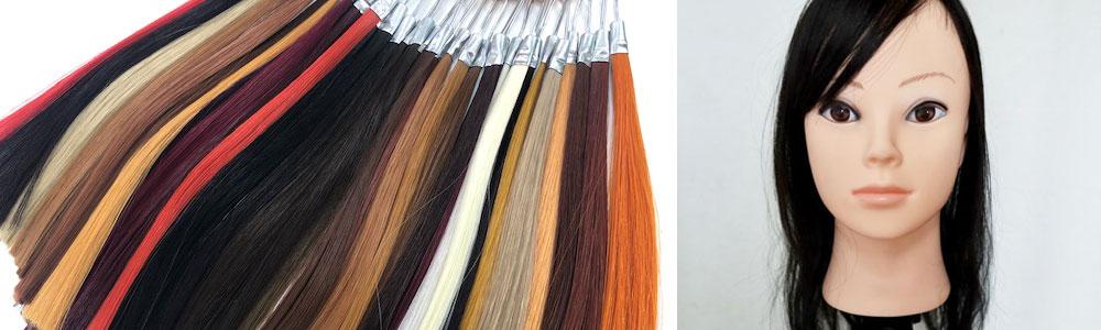 特殊な色でも特注でオーダーメイドウィッグが作れます!